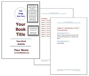 Free Sample Book Template